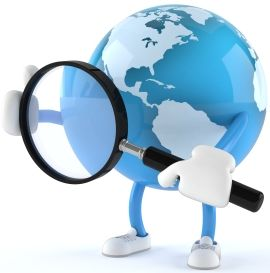 Planetman Magnify Glass for Web Analysis