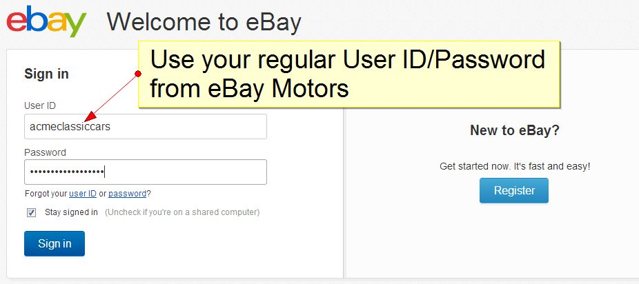 how to sell overseas on ebay
