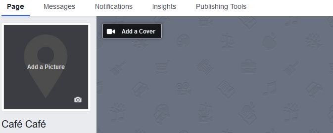 Add a Cover to your Facebook Business Page